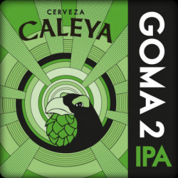 Cerveza Caleya goma 2 33cl