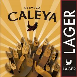 Cerveza caleya lager 33cl