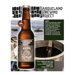 Cerveza basqueland Aupa...