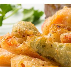 Pimientos en tempura...