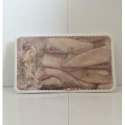 Calamar límpio con piel